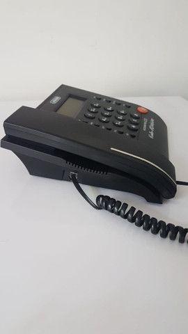 Telefone fixo com Identificador de Chamadas Memória Viva Voz - Foto 3