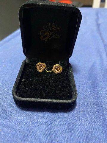 Brincos ouro 18k