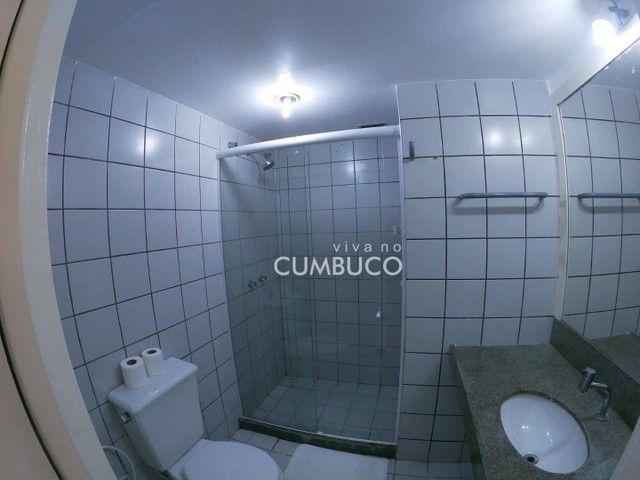 Flat com 1 dormitório, 37 m² - venda por R$ 200.000,00 ou aluguel por R$ 2.200,00/mês - Cu - Foto 8