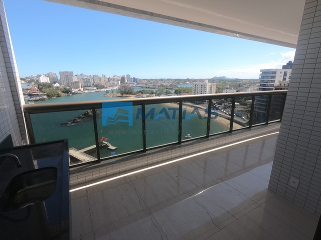 Lançamento em Guarapari : Residencial Águas do Porto    3 quartos com duas vagas    vista  - Foto 7