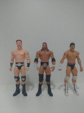 Bonecos WWE (usados)