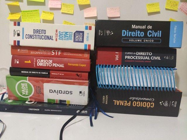 Livros Direito civil, penal constitucional, outros