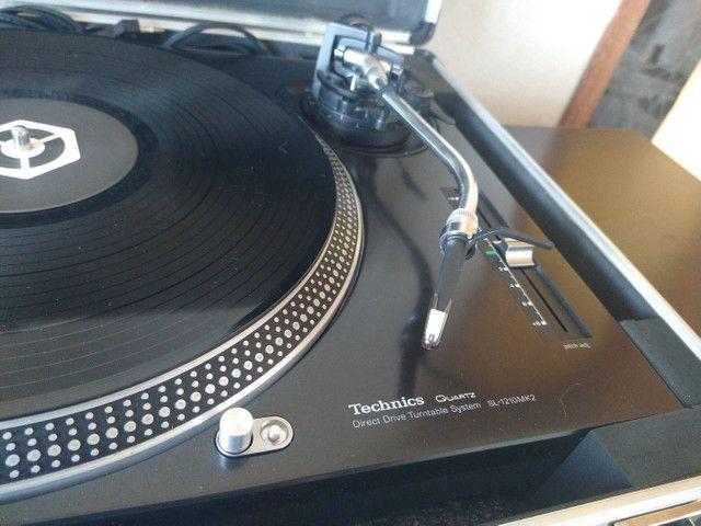 Toca discos Technics SL 1210 Mk2 - Para DJ