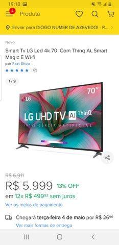 Vendo TV LG  estado de Nova