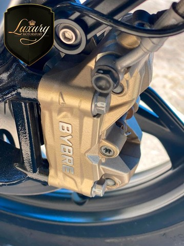 Motocicleta Bmw GS G310 2020 Preta com 600 KM - Foto 10