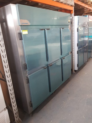 Geladeira 6 portas kofisa - inox 220v