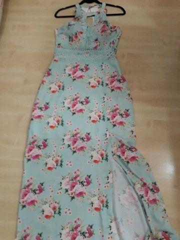 Vestido Novo Com Etiquetas,da Linny Fashion Tam.m Com Bojo.