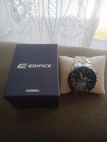 Relógio Casio EDIFICE modelo EFR 539 D usado - Foto 5