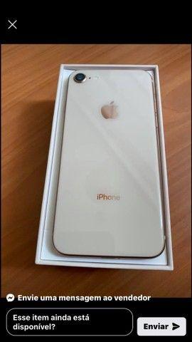 Iphone 8 64 gigas  dourado
