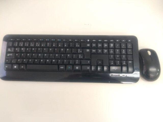 Kit teclado e mouse Wireless 850- Microsoft - Foto 2