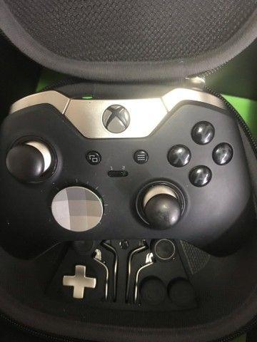Controle Xbox One Xone Elite black preto - Foto 2