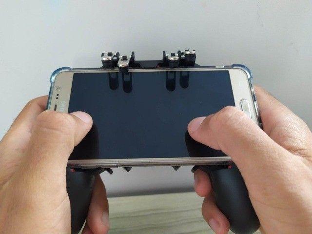 Joystick Ak66 Gatilhos Para Pubg Freefire - Foto 4