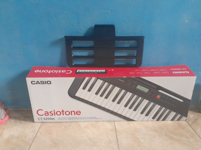 Teclado casio ct 200 - Foto 4