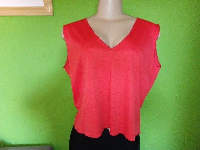 Blusas Femininas em Malha, modelos diversos (três) - GG - Foto 3