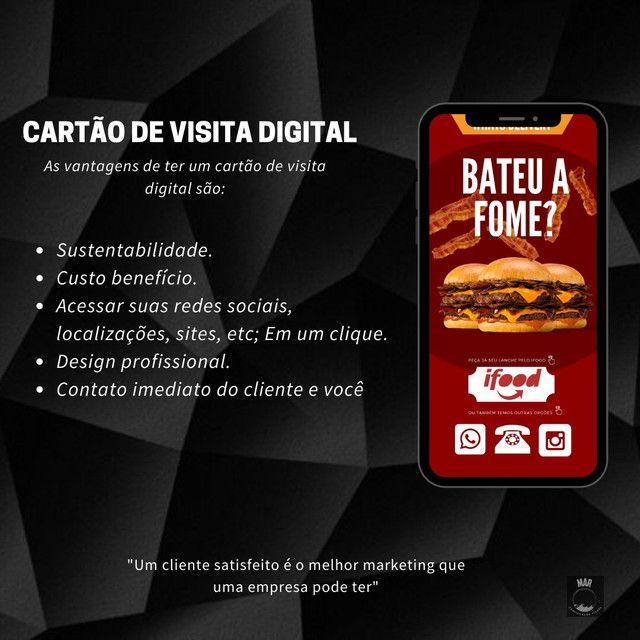 Cartão de visita digital  - Foto 2