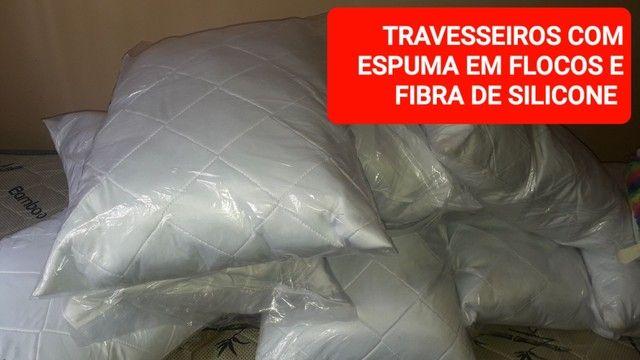 TRAVESSEIROS DIVERSOS FAIBER FLEX - Foto 4