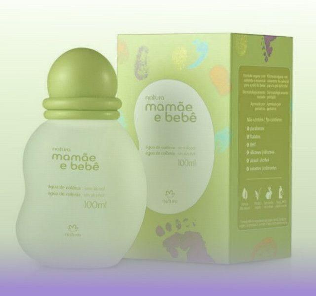 Água de Colônia Mamãe e Bebê