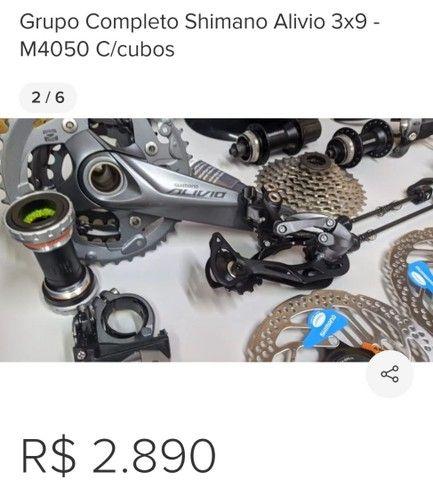 Vendo bike KSW com grupo alívio de 27v - Foto 3