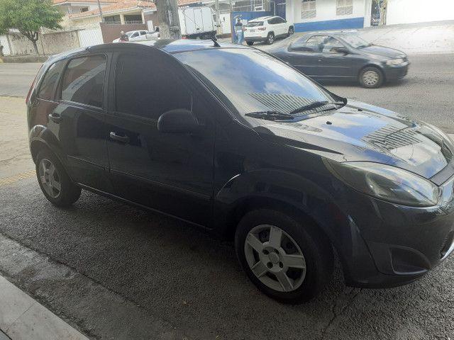 FORD/ Fiesta Hatch 1.6 ANO 2011 cor preta completo - Foto 2