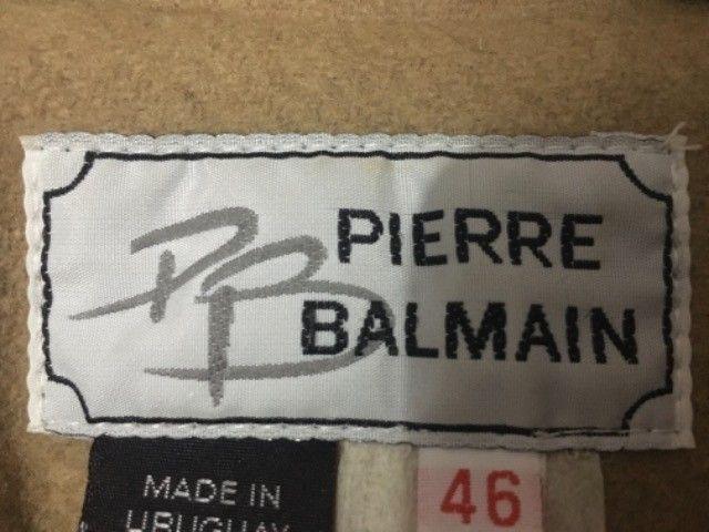 Casaco de lã batida Pierre Balmain - Foto 3