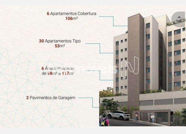 Apartamento à venda com 2 dormitórios em Carlos prates, Belo horizonte cod:849911