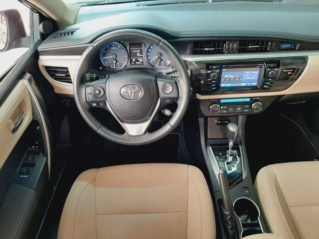 Toyota Corolla Sedan Altis Automático 2017 Emplacado 2021 Toyota - Foto 8