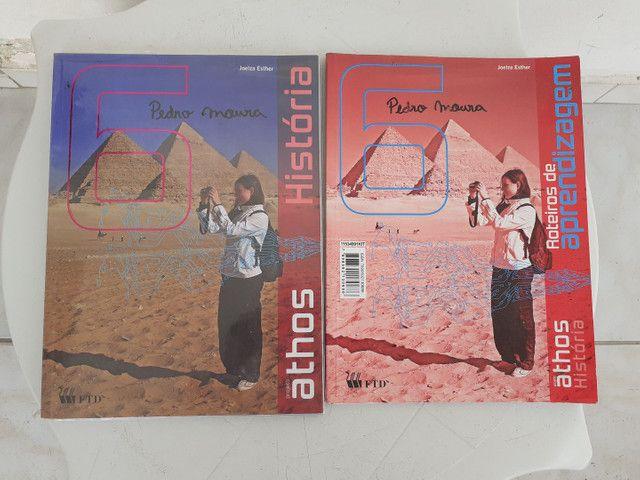Livros ATHOS 6 ano completo - Foto 6