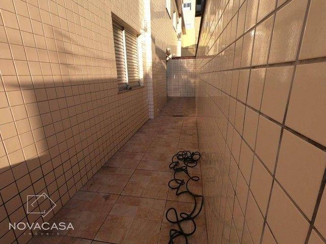 Apartamento Garden com 3 dormitórios para alugar, 97 m² por R$ 1.485/mês - Heliópolis - Be - Foto 8