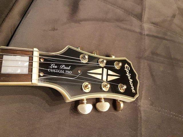Guitarra Ephiphane Les Paul Custom Pro  - Foto 3