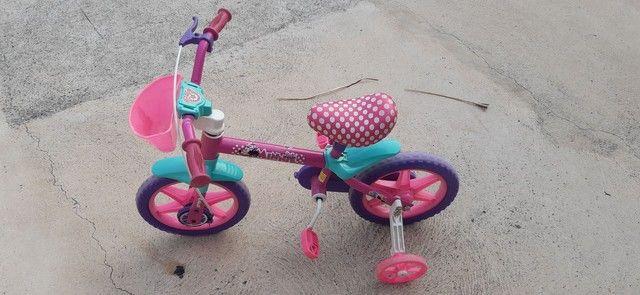 Bicicleta Caloi da minie aro 12 - Foto 3