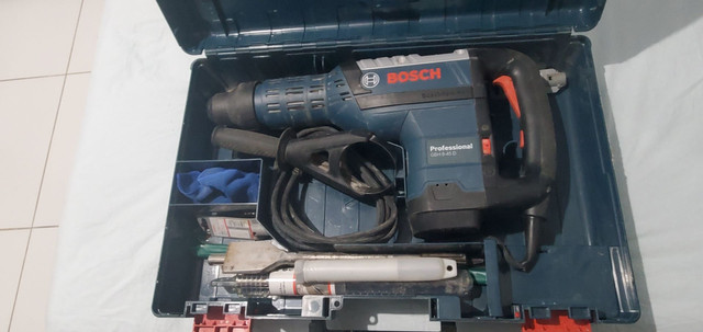 Martelo Perfurador Sds Max 1500W GBH 8-45 D 220V Bosch<br>