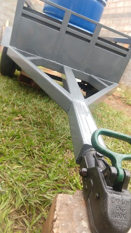 Carretinha em Metal aguenta peso - Foto 3