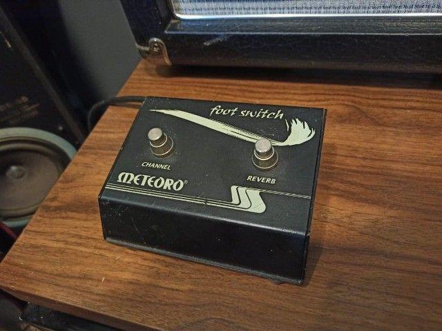 Amplificador c/ Pré Valvulado Vulcano G100 2x10 - Foto 3