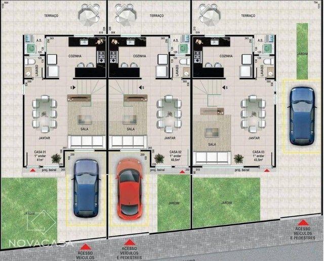 Casa com 3 dormitórios à venda, 88 m² por R$ 580.000 - Santa Amélia - Belo Horizonte/MG - Foto 2