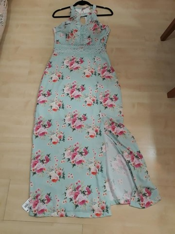 Vestido Novo Com Etiquetas,da Linny Fashion Tam.m Com Bojo. - Foto 2