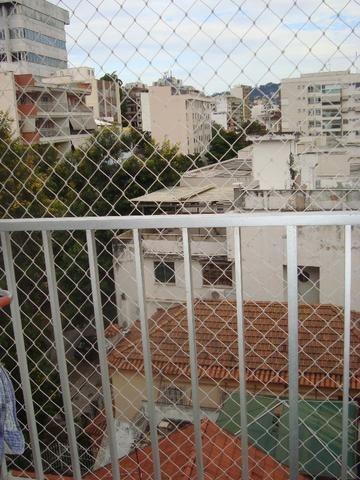 Tijuca Apartamento salão varanda 2 dormitórios dependências reversível garagem - Foto 6