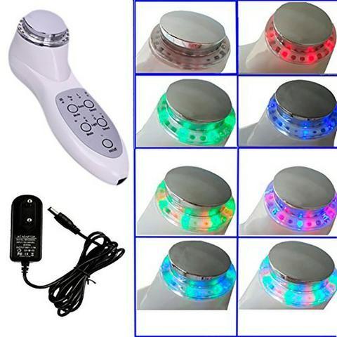 Ultra Som Fisioterapia 3 Mhz Portatil Fototerapia Massageador Facial Com Fototerapia LED - Foto 3