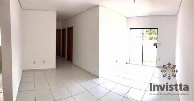 Apartamento com 3 quartos para alugar, 66 m² por r$ 950,00/mês - plano diretor norte - pal - Foto 2