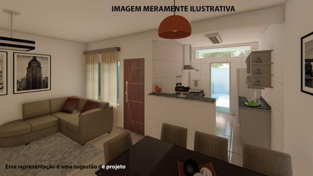 Residência de 70 m² c/ 2 quarto - Jardim Novo Bongiovani - Foto 14