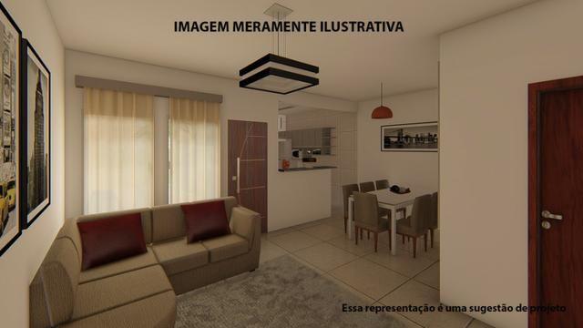 Residência de 70 m² c/ 2 quarto - Jardim Novo Bongiovani - Foto 12