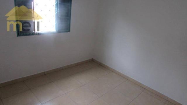 Edícula com 1 dormitório para alugar, 36 m² por R$ 550,00/mês - Vila Malaman - Presidente  - Foto 9