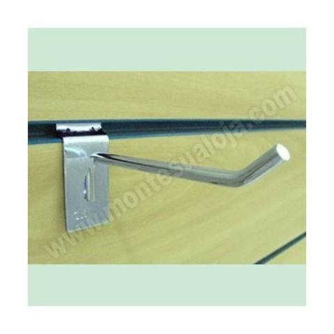 Gancho painel 5 mm zincado unidade, tamanhos 5 cm, 10 cm, 15 cm - Foto 2