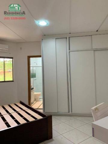 Sobrado com 4 dormitórios para alugar, 350 m² por R$ 6.000,00/mês - Residencial Sun Flower - Foto 14
