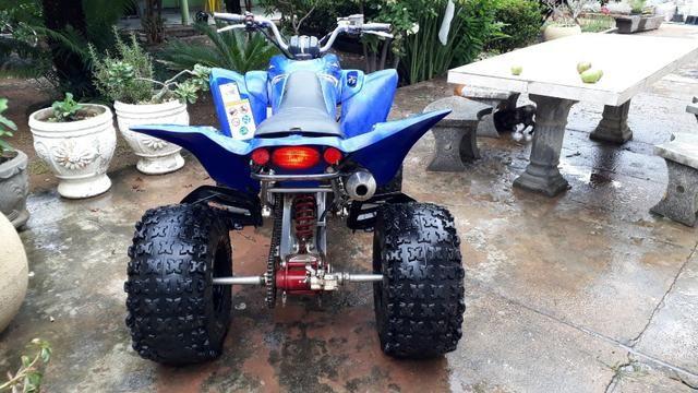 Quadriciclo Yamaha raptor 350cc - Foto 8