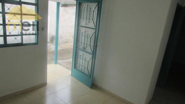 Edícula com 1 dormitório para alugar, 36 m² por R$ 550,00/mês - Vila Malaman - Presidente  - Foto 6