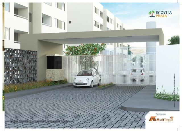 SR More em Candeias, 50m2, 2 qrts 1 suite e varanda com lazer completo