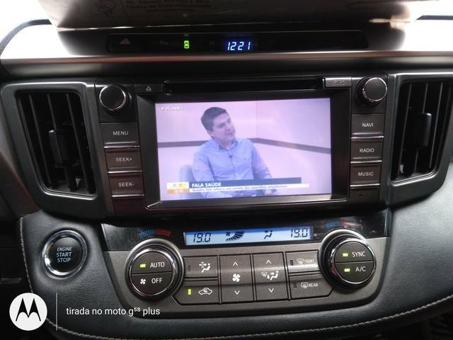Vendo Toyota RAV4 4x4 conservadíssima!!! - Foto 4