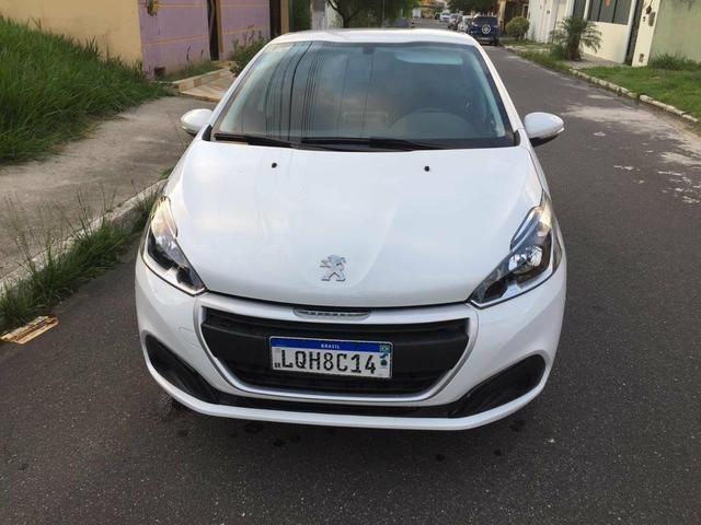 Peugeot 208 1.2 active 2019, 12.000 km, super econômico,multimídia,impecável,aceito troca - Foto 2