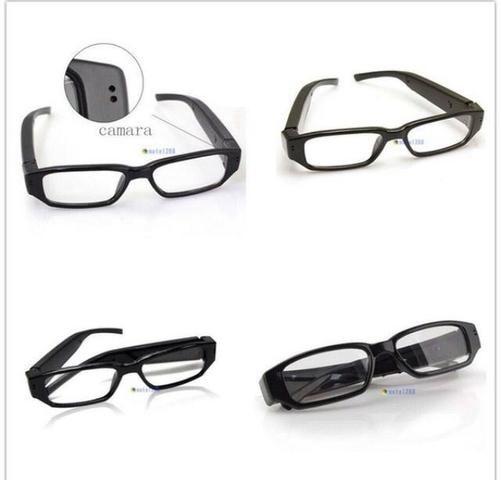 df746fe5f67e1 Oculos Espião Com Camera Escondida Hd Tira Foto E Filma - Áudio, TV ...