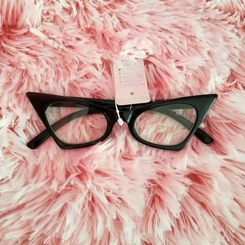 Armação de Óculos gatinho retrô importada (Itália) (NOVO ... 05fb4c84c7